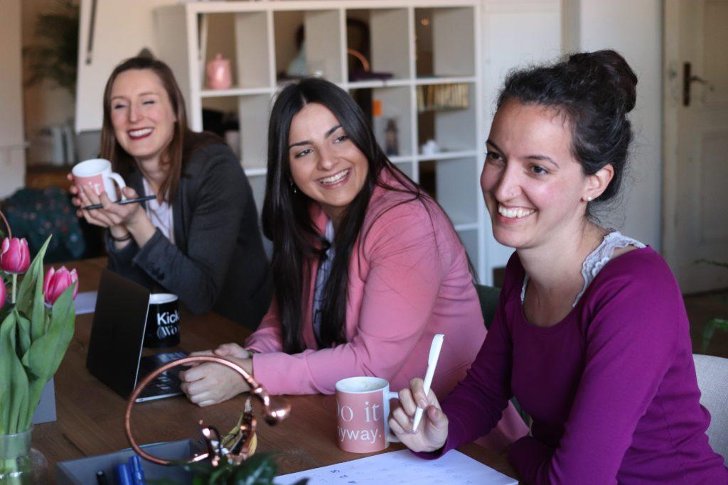 team of women at work
